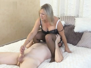 milf Porn stockings video