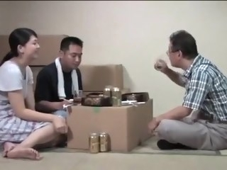 asian Porn threesome video