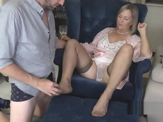 stockings Porn straight video