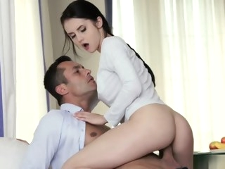 brunette Porn straight video