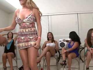 brunette Porn blond video