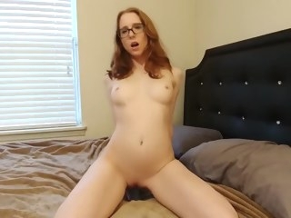 red head Porn skinny video