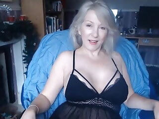 blonde Porn milf video