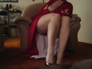 foot fetish Porn cumshot video