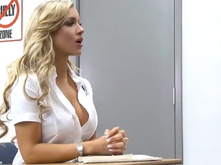 blowjob Porn blond video